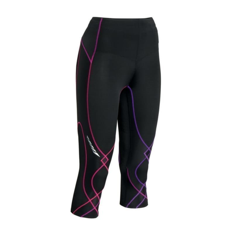 CW-X 3/4 Stabilyx Tights XS Black/Purple