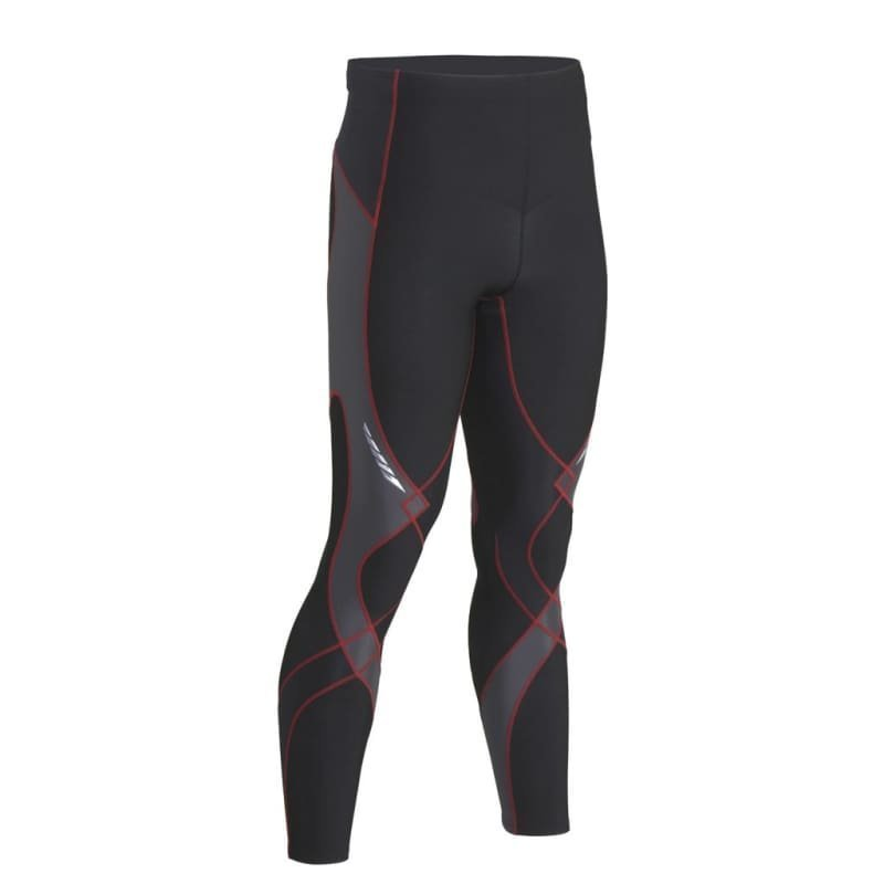 CW-X Men's Insulator Stabilyx Tights XL Black/Grey/Red