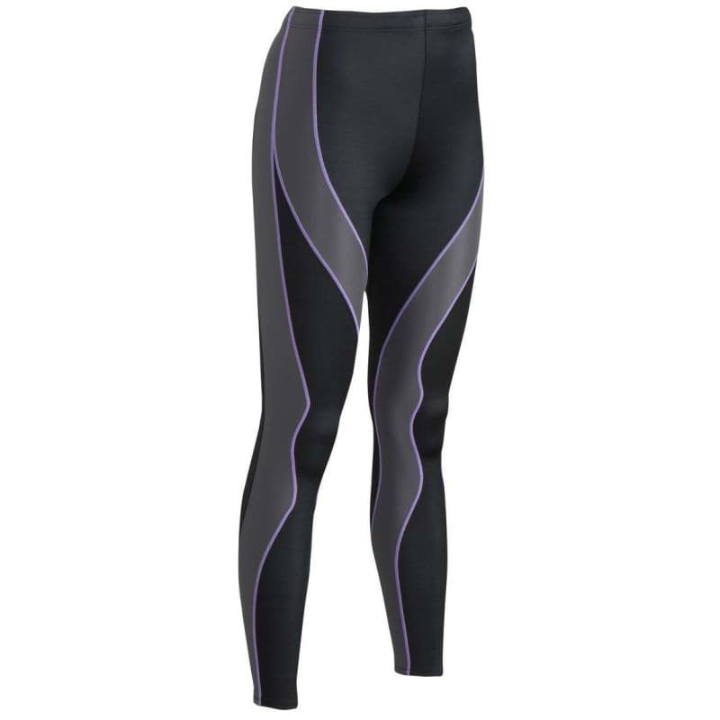 CW-X PerformX Tights L Black/Grey/Lavender