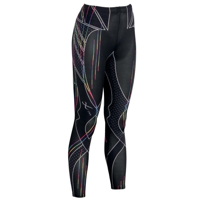 CW-X Revolution Tights S Rainbow Stripes