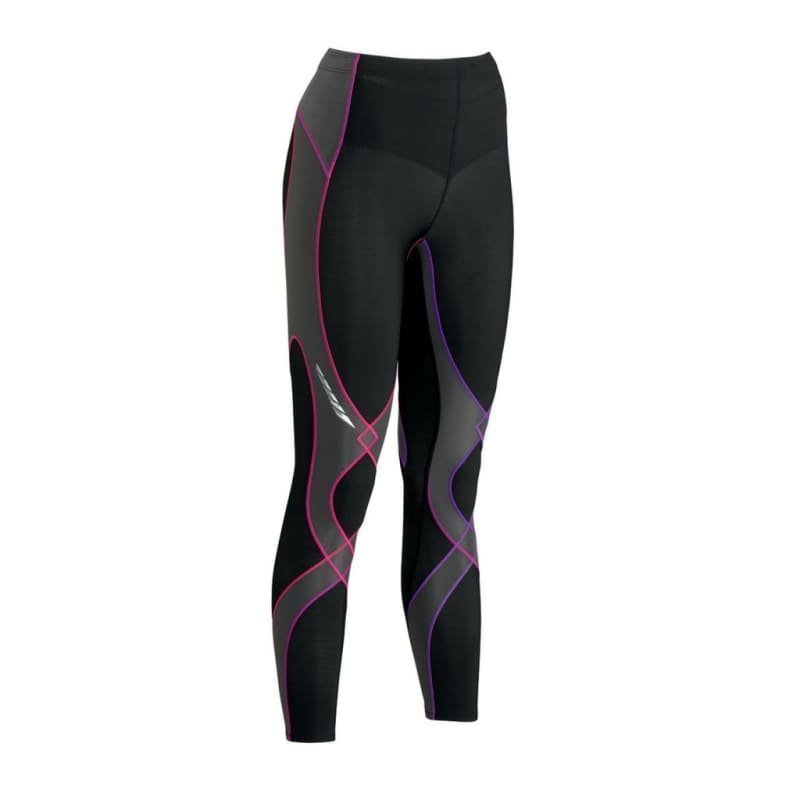 CW-X Women's Insulator Stabilyx Tights M Black/Purple