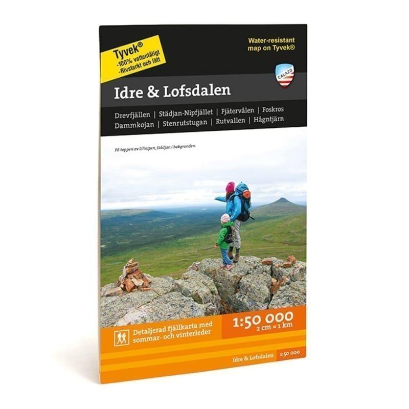 Calazo förlag Idre & Lofsdalen 1:50.000