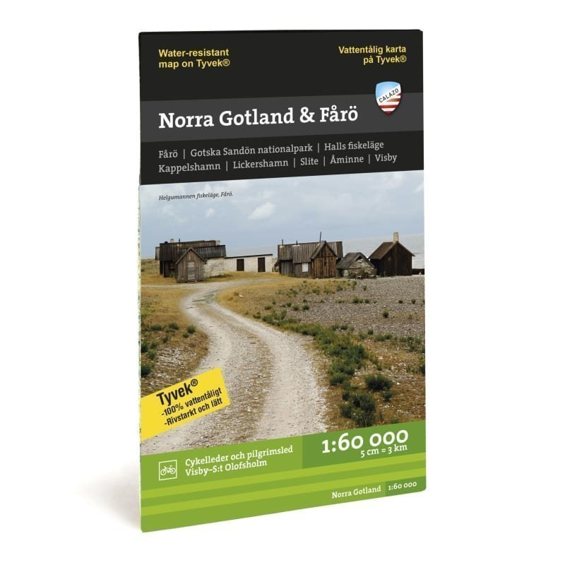 Calazo förlag Norra Gotland 1:50.000