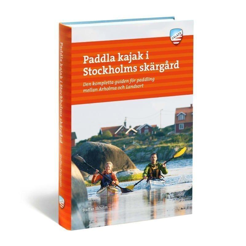 Calazo förlag Paddla kajak i Stockholms skärgård
