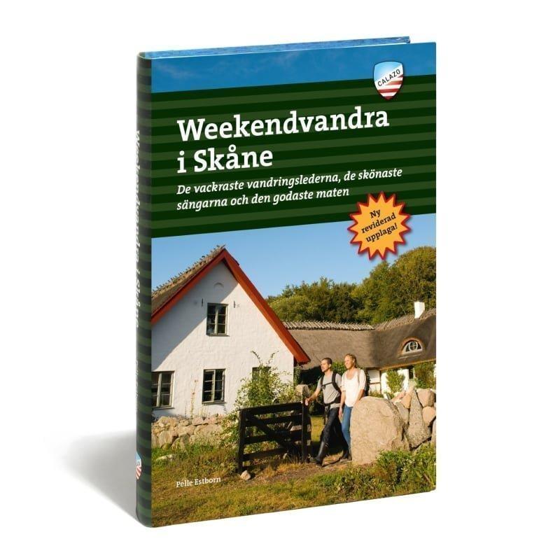 Calazo förlag Weekendvandra i Skåne 3e uppl. ONE SIZE