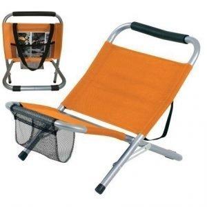 Camp chair rantatuoli oranssi