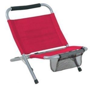 Camp chair rantatuoli punainen