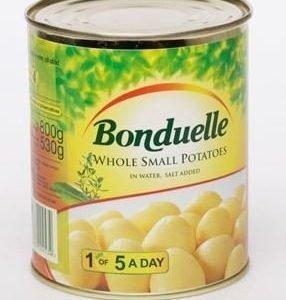 Can safe Bonduelle Potatoes