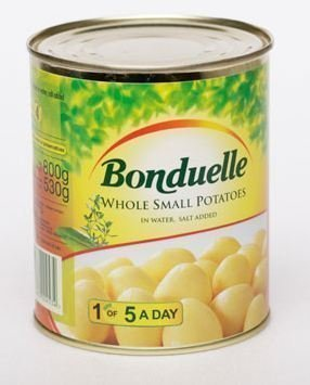 Can safe Bonduelle Potatoes