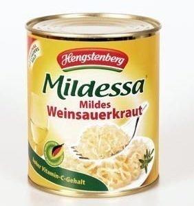 Can safe Hengstenberg Sauerkraut