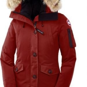 Canada Goose Montebello Parka Tummanpunainen XXS