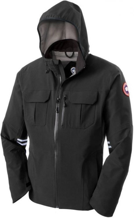 Canada Goose Moraine Shell Jacket Men Musta S