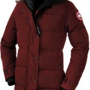 Canada Goose Shelburne W Parka Tummanpunainen L