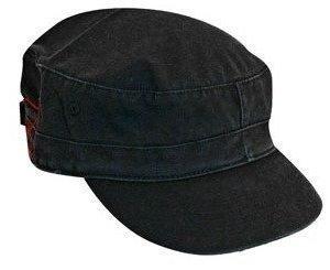 Cap Cadet lippalakki musta