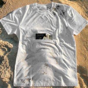 Clever Travel Companion puuvilla T-paita valkoinen