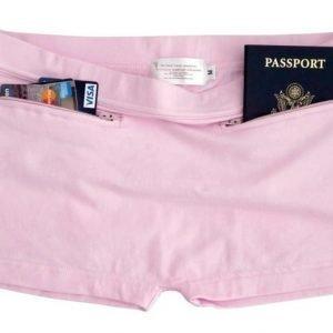 Clever Travel Companion puuvilla alushousut pinkki