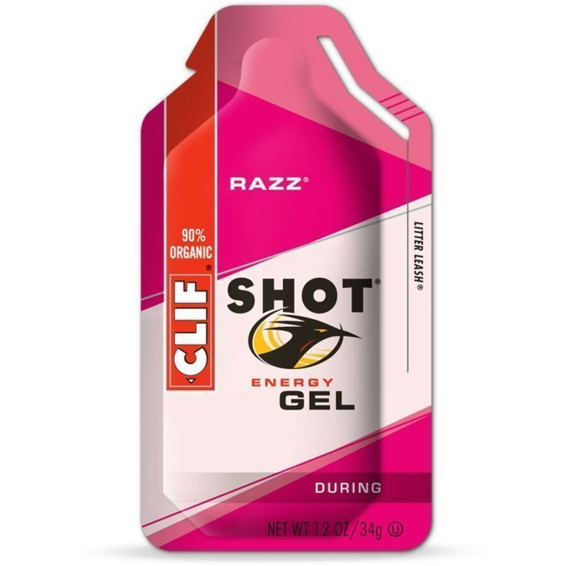 Clif Bar Clif Shot Gel 1 SIZE Razz