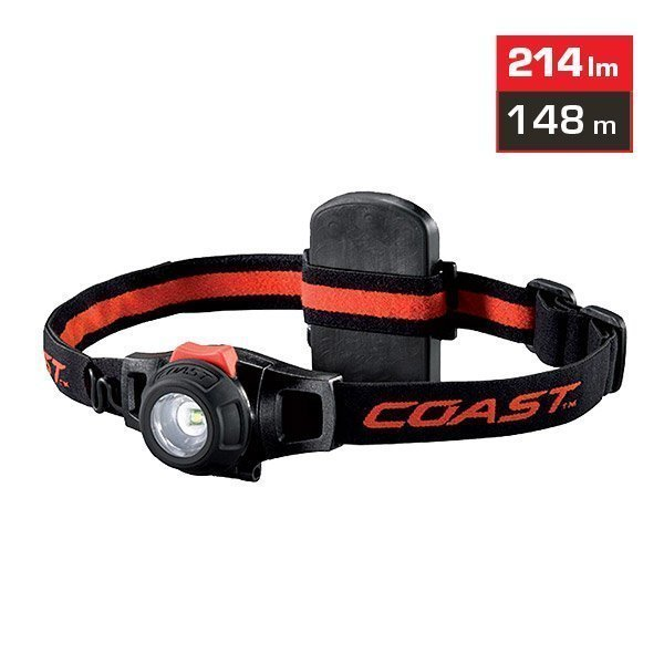 Coast HL6 LED Otsalamppu