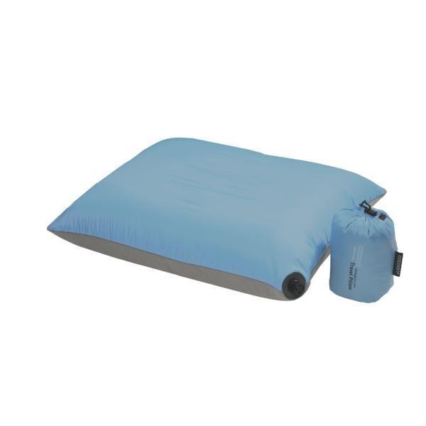 Cocoon Air-Core Pillow UlltraL XL blu ilmatäytteinen matkatyyny