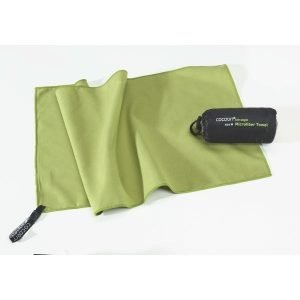 Cocoon Microfiber Towel Mikrokuitupyyhe Ultrakevyt Vihreä M