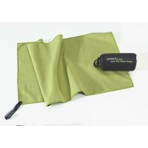 Cocoon Microfiber Towel Mikrokuitupyyhe Ultrakevyt Vihreä S