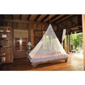 Cocoon Travel Net Single Ultralight Kevyt Hyönteisverkko Yhdelle Valkoinen 155g 230x130 Cm