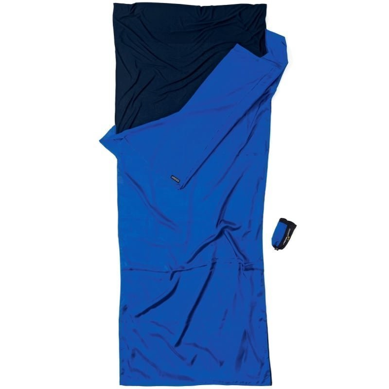 Cocoon TravelSheet Dual Liner Ripstop Silk/Thermolite 1SIZE ULTRAMARINE BLUE/TUAREG