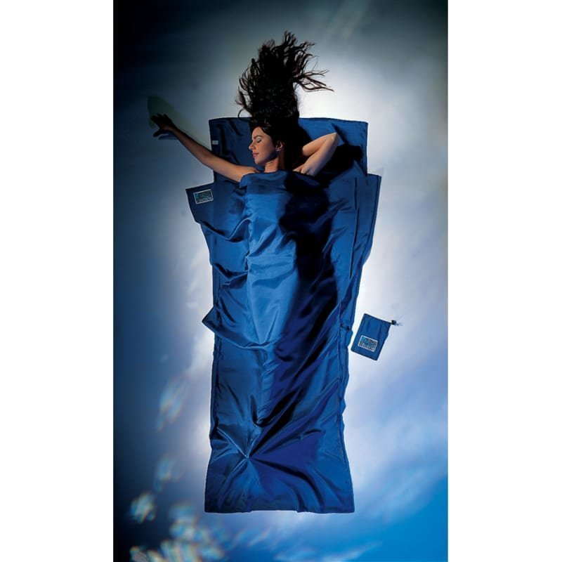 Cocoon TravelSheet Silk Ultramarine Blue
