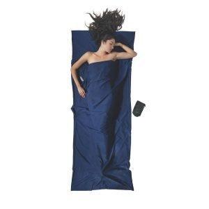 Cocoon Travelsheet Matkalakana 100% Mikrokuitu Sininen 220x90 Cm