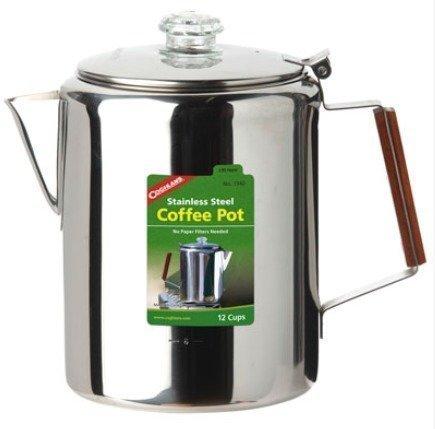 Coghlans Coffee Pot perkolaattori kahvipannu 12 kupille