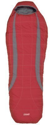 Coleman Latitude X makuupussi punainen