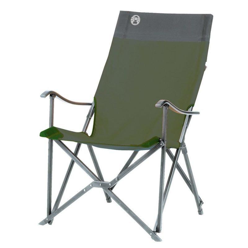 Coleman Sling Chair matkatuoli vihreä