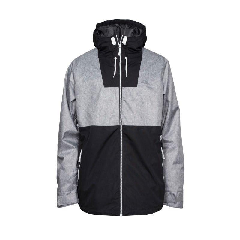 Colour Wear Block Jacket XXL Grey Melange