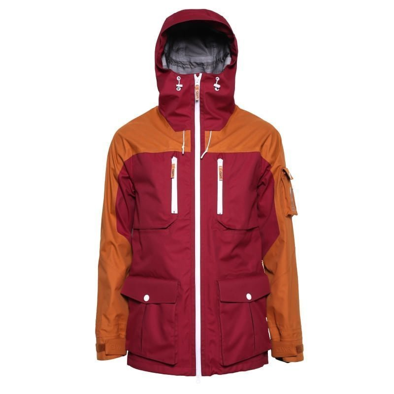 Colour Wear Falk Jacket L Burgundy