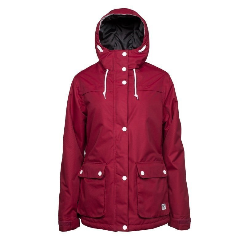 Colour Wear Ida Jacket L Burgundy
