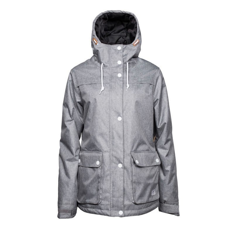 Colour Wear Ida Jacket L Grey Melange