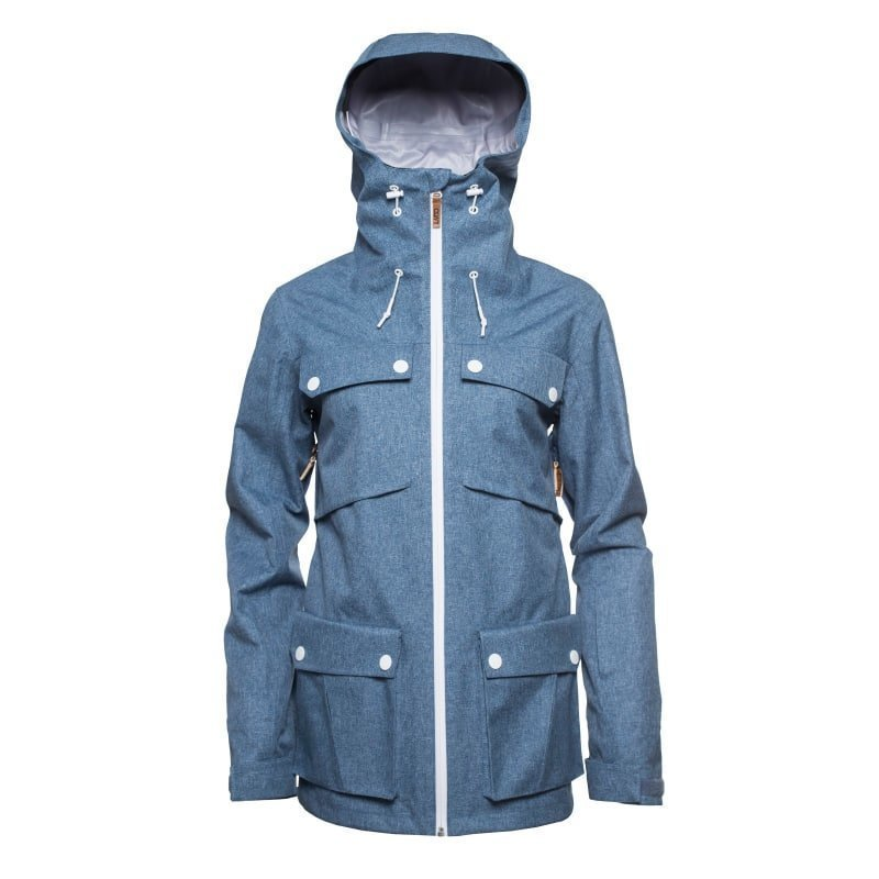 Colour Wear Lynx jacket XS Denim Blue