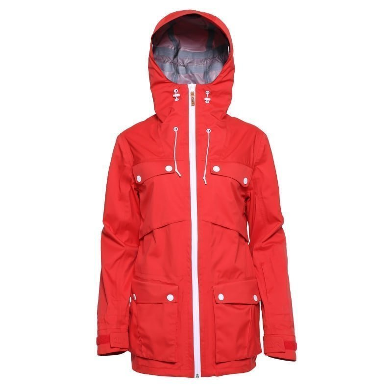 Colour Wear Lynx jacket XS Red