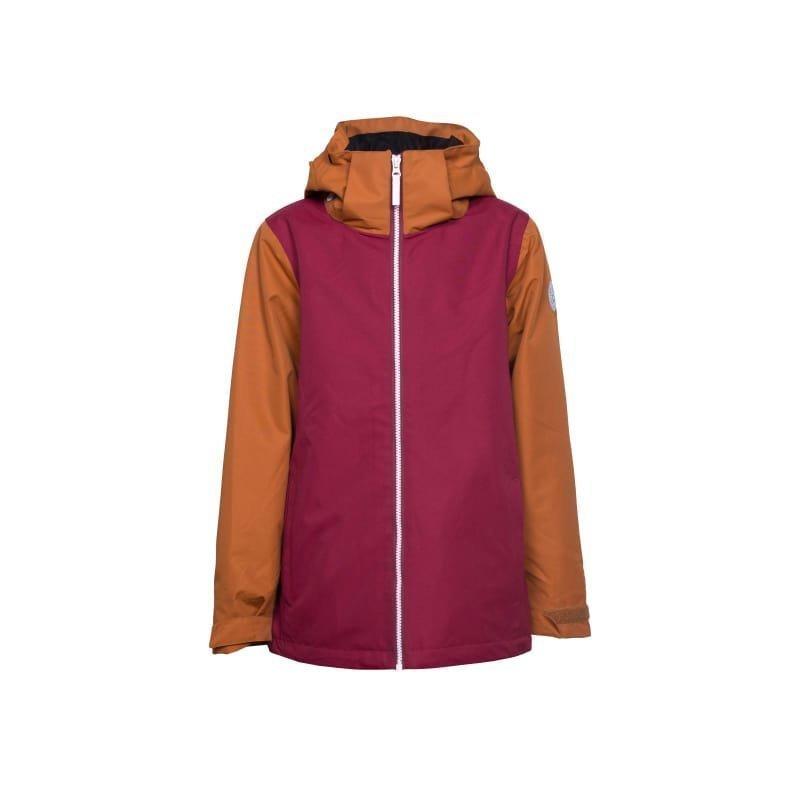 Colour Wear Mirror Jacket 130 Burgundy