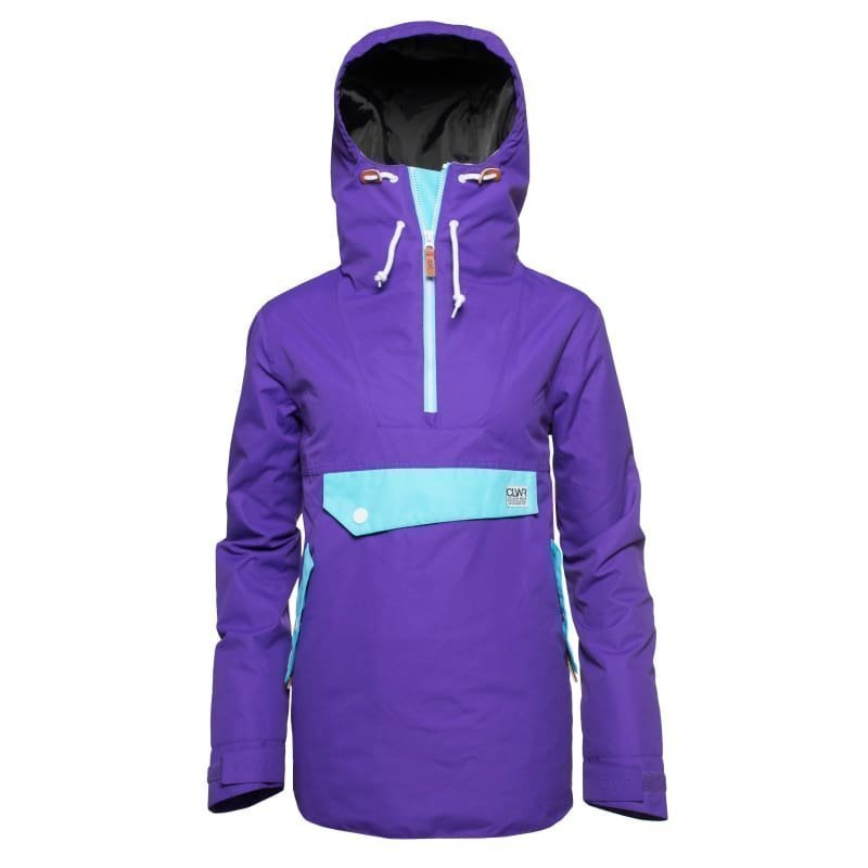 Colour Wear Recruit Anorak S Ultra Violet