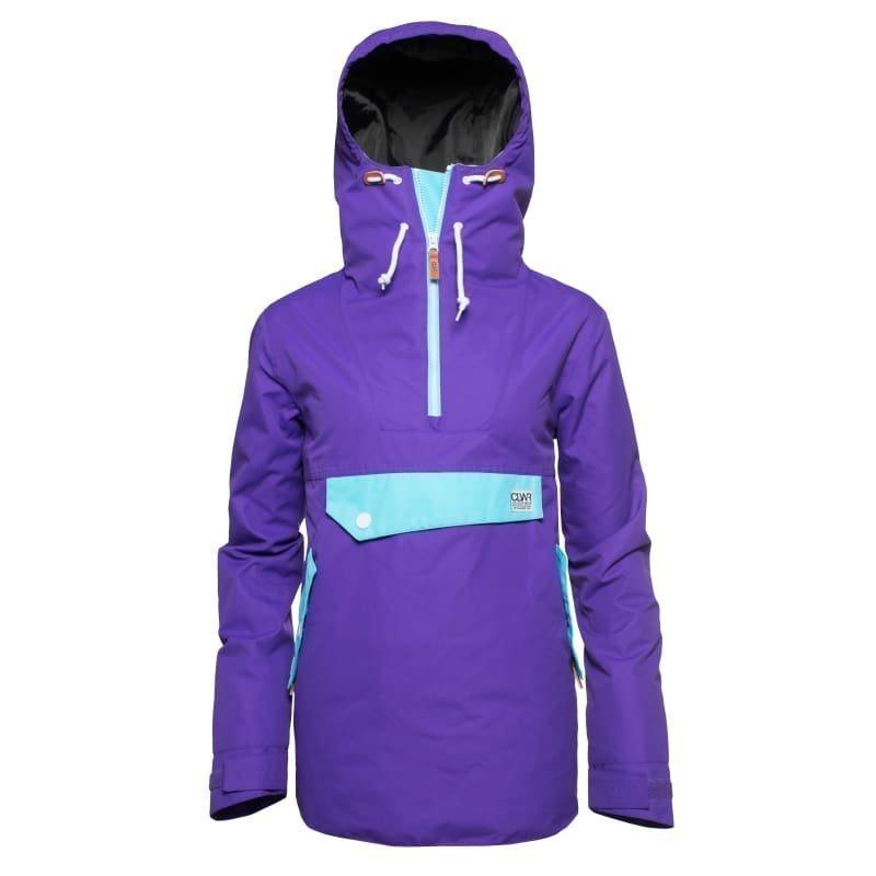 Colour Wear Recruit Anorak S Ultra Violet