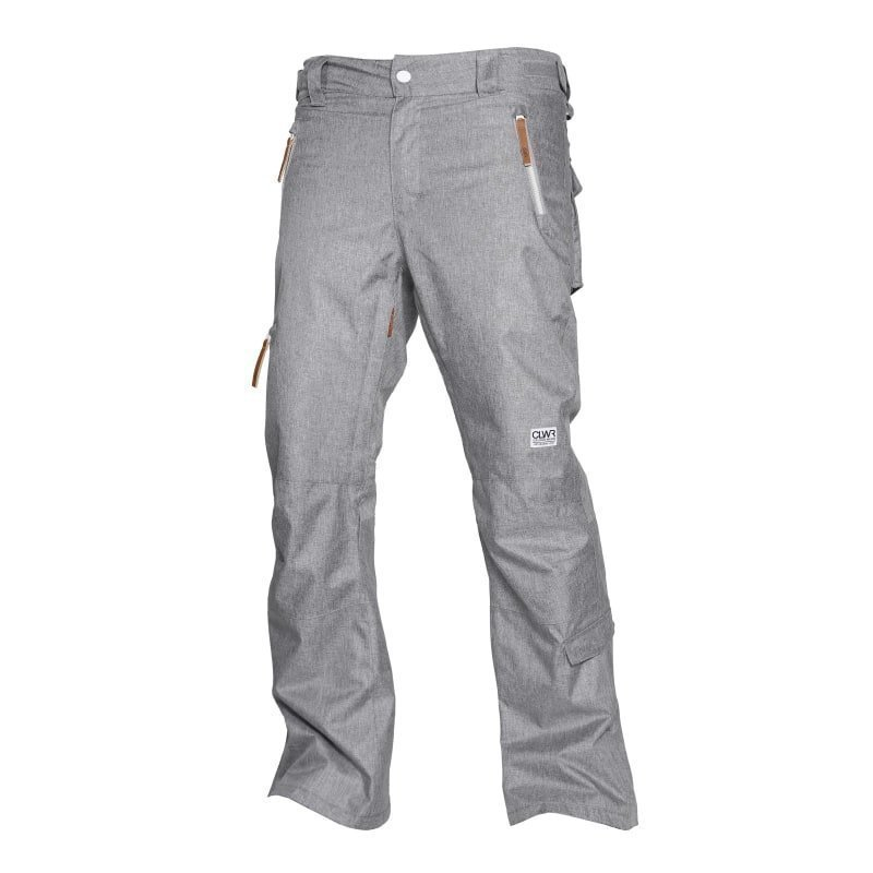 Colour Wear Sharp Pant S Grey Melange