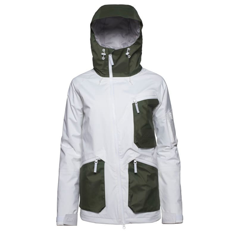 Colour Wear Wolverine Jacket L White