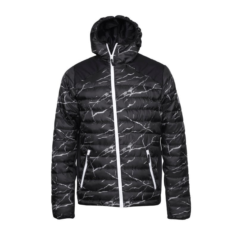 Colour Wear Zest Jacket S BLACK MARBLE