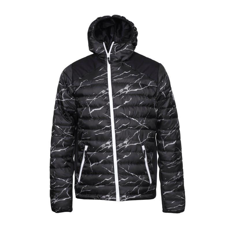 Colour Wear Zest Jacket S BLACK MARBLE