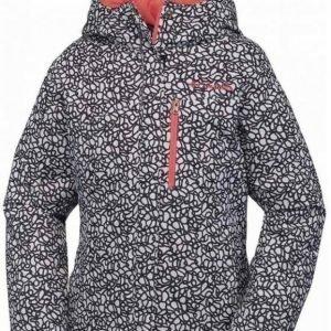 Columbia Alp Free Fall Girls Jacket Mustavalkoinen S