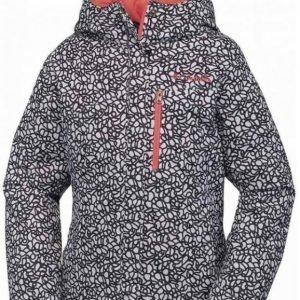 Columbia Alp Free Fall Girls Jacket Mustavalkoinen XL