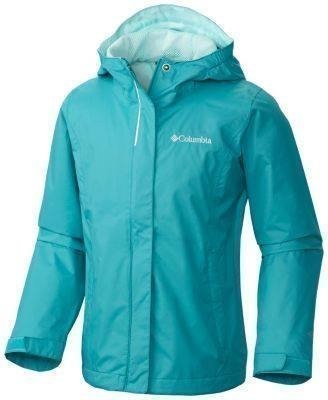 Columbia Arcadia Girl's Jacket Turkoosi L