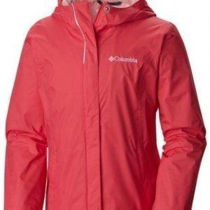 Columbia Arcadia Girl's Jacket Vaaleanpunainen M