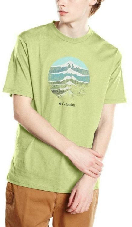 Columbia CSC Mountain sunset Tee Vihreä XXL